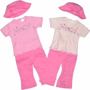 tshirt trousers and hat set