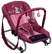 minnie flower bungee bouncer