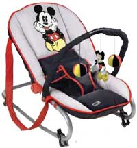 sitting mickey bungee bouncer